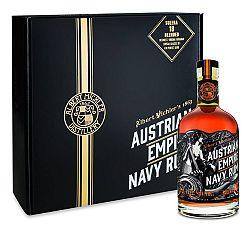 Austrian Empire Navy Rum Solera 18 s 2 pohármi 40% 0,7l