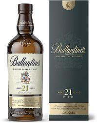 Ballantine's 21 ročná 40% 0,7l