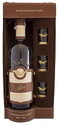 Beluga Allure s 3 pohármi 40% 0,7l