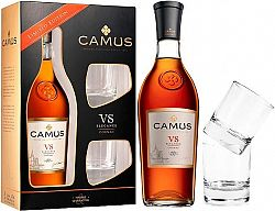 Camus VS Elegance s 2 pohármi 40% 0,7l