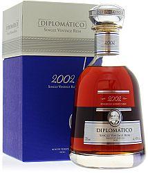 Diplomático Single Vintage 2002 43% 0,7l