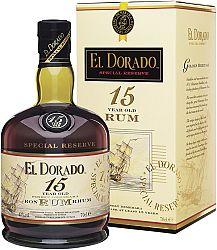 El Dorado 15 ročný 43% 0,7l
