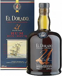 El Dorado 21 ročný 43% 0,7l
