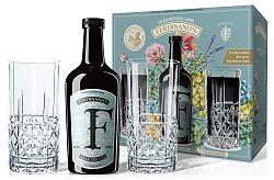 Ferdinand's Saar Dry Gin s 2 pohármi 44% 0,5l