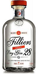 Filliers Dry Gin 28 Tangerine 43,7% 0,5l