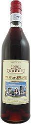 Godet Pineau des Charentes Rosé 17% 0,75l