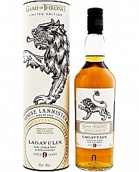 House Lannister & Lagavulin 9 ročná - Game of Thrones Single Malts Collection 46% 0,7l