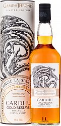 House Targaryan & Cardhu Gold Reserve - Game of Thrones Single Malts Collection 40% 0,7l