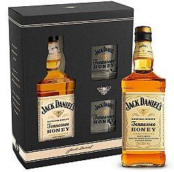 Jack Daniel's Honey s 2 pohármi 35% 0,7l