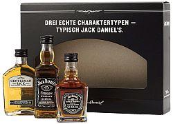 Jack Daniels Mini Set 3x0,05l 41,67% 0,15l
