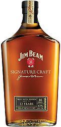 Jim Beam Signature Craft 12 ročná 43% 0,7l