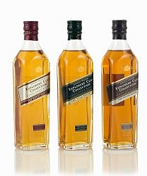 Johnnie Walker Explorers' Club Collection Spice/Royal/Gold 3x0,2l (40%)