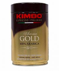 Kimbo Aroma Gold pražená mletá káva 250g