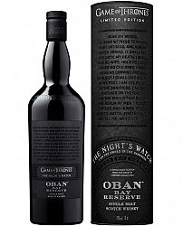 Night's Watch & Oban Bay Reserve - Game of Thrones Single Malts Collection 43% 0,7l