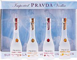 Pravda Vodka Mini Set 4 x 0,05l 37,5% 0,2l