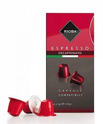 Rioba Espresso Decaffeinato kapsule 10 x 5g