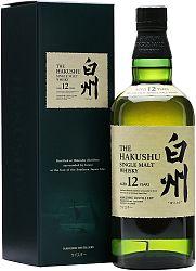 Suntory Hakushu 12 ročná 43% 0,7l