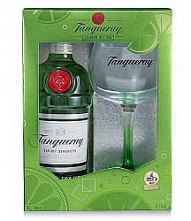 Tanqueray Gin 43,1% s 1 pohárom 0,7l