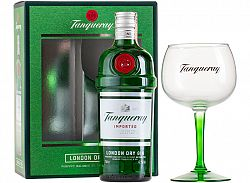 Tanqueray Gin 47,3% s 1 pohárom 0,7l