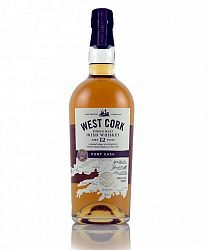West Cork Port Cask Finish 12Y Single Malt Irish Whiskey 0,7l (43%)