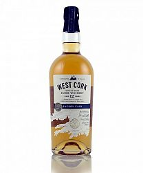 West Cork Sherry Cask Finish 12Y Single Malt Irish Whiskey 0,7l (43%)