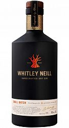 Whitley Neill Handcrafted Dry Gin 1l 43%