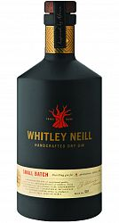 Whitley Neill Handcrafted Dry Gin 43% 0,7l