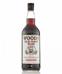Wood's Old Navy Rum 1L (57%)