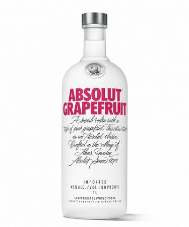 ABSOLUT Grapefruit 1L (40%)