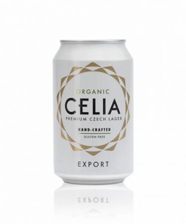 Celia Organic - bezlepkové pivo 0,33L (4,5%)