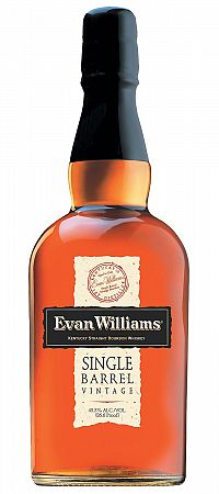 Evan Williams Single Barrel Vintage 2007 43,3% 0,7l