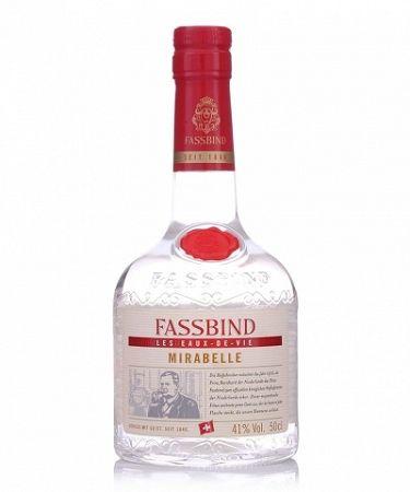 Fassbind Eau de Vie Mirabelle 0,5l (41%)