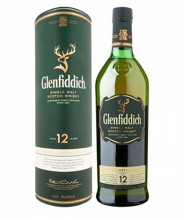 Glenfiddich Whisky 12YO 1l (40%)