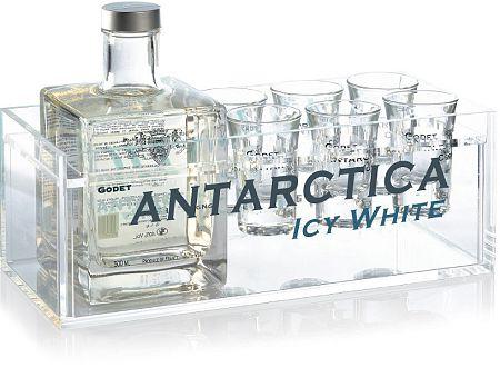 Godet Antarctica + 6 pohárov 40% 0,5l
