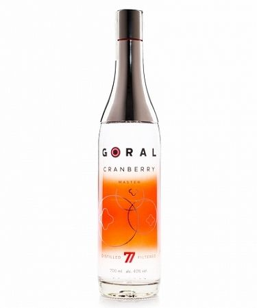 Goral Master Cranberry 0,7l (40%)