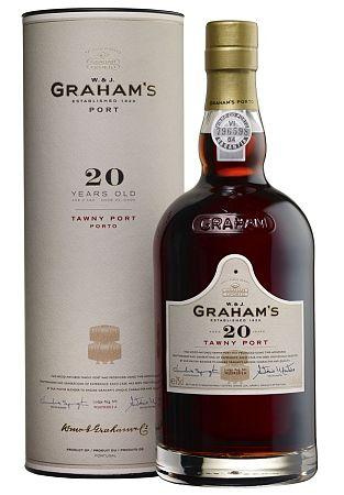 Grahams 20 Ročné Tawny Port 20% 0,75l