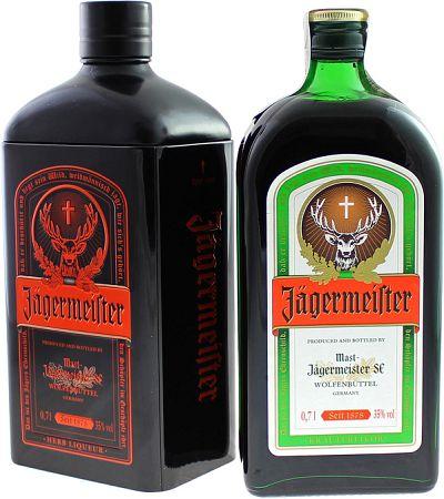 Jägermeister v plechu 35% 0,7l