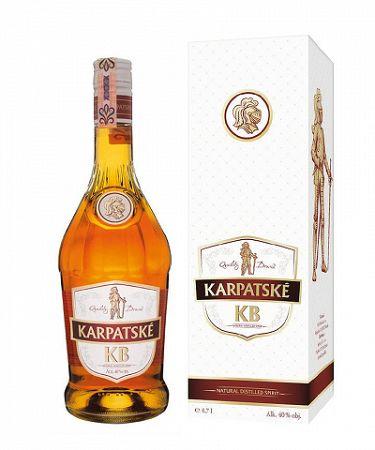 Karpatské KB + GB 0,7l 40%
