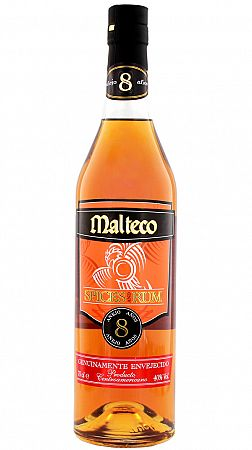 Malteco Spices and Rum 8 ročný 40% 0,7l