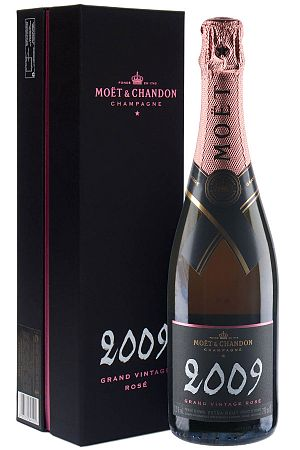 Moët & Chandon Grand Vintage Rosé 2009 12,5% 0,75l