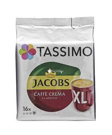 Tassimo Jacobs Caffé Crema XL kapsule 16ks