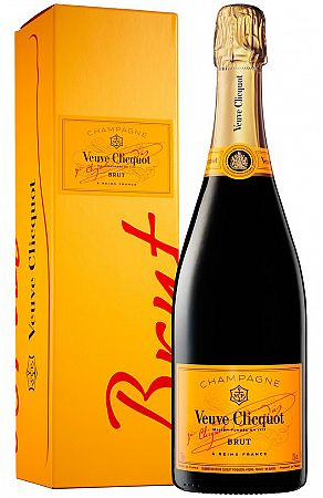 Veuve Clicquot Yellow Label v kartóniku 12% 0,75l