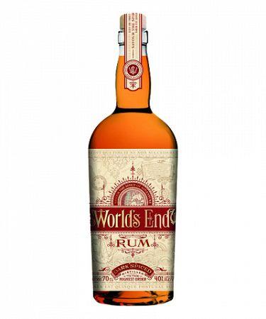 World's End Rum Dark Spiced 0,7L (40%)